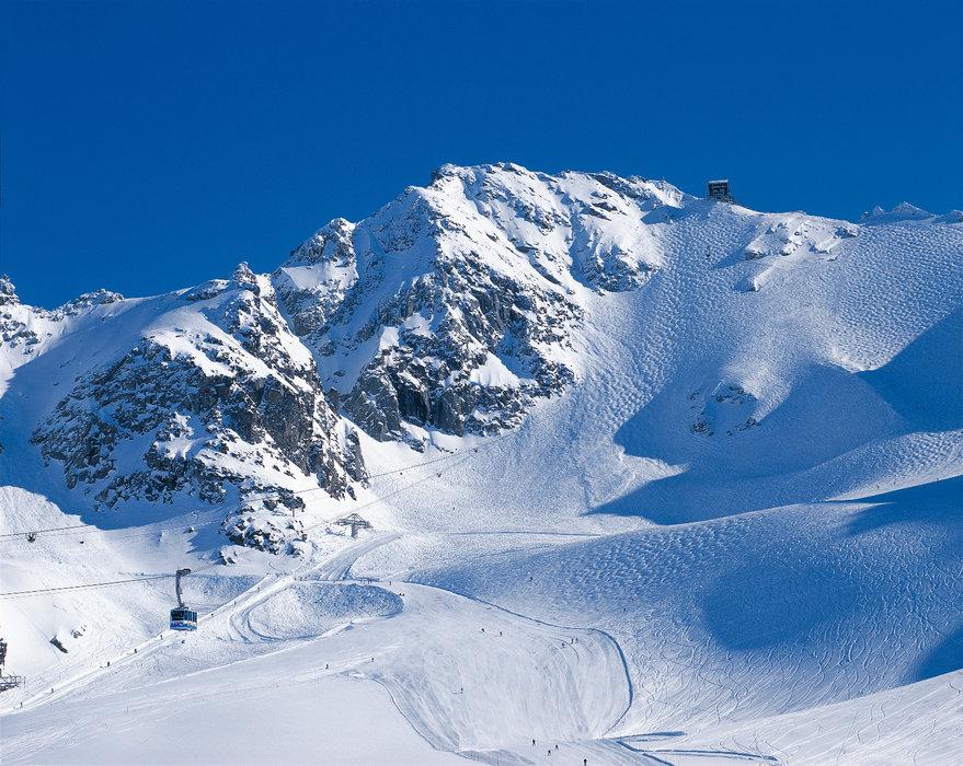 Mont Fort bei Verbier (Schweiz): Mit der Luftseilbahn auf 3.330 Meter und dann im Sturzflug hinab