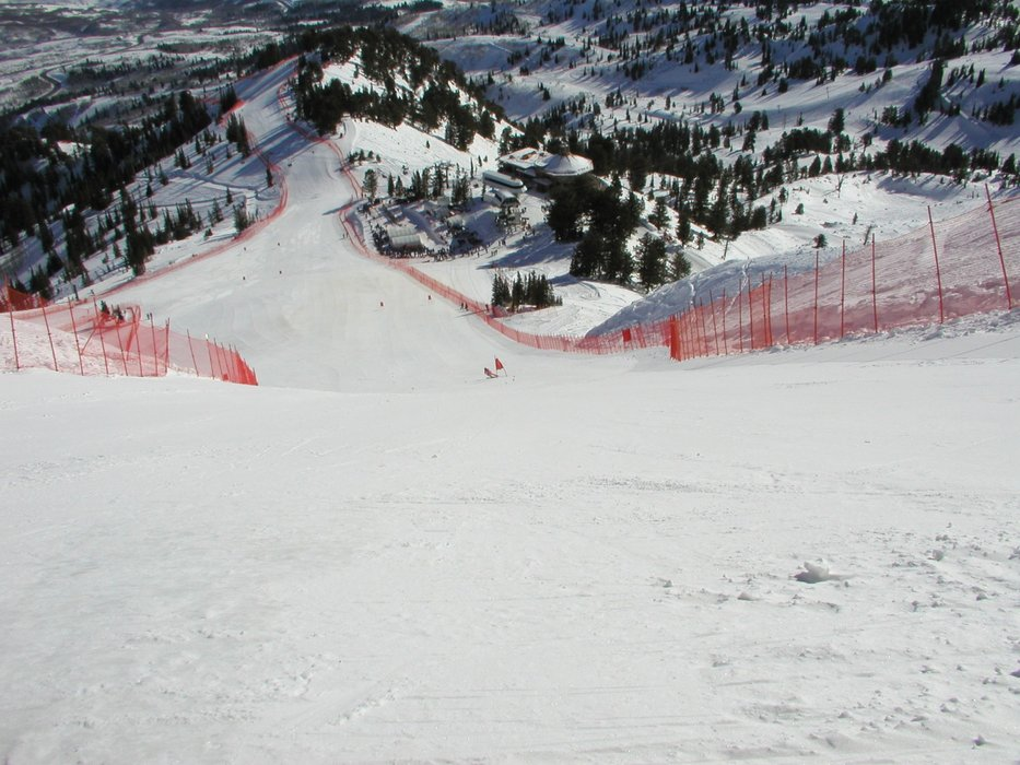 Grizzly Downhill run in Snowbasin during the 2002 Winter Olympics, USA - © Snowbasin: A Sun Valley Resort