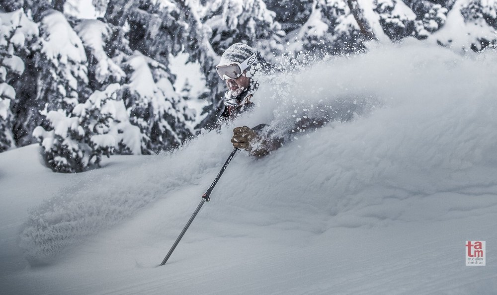 Powder last week at Crystal Mountain, Washington. Photo by Truc Nguyen Allen, courtesy of Crystal Mountain Resort. - © Truc Nguyen Allen