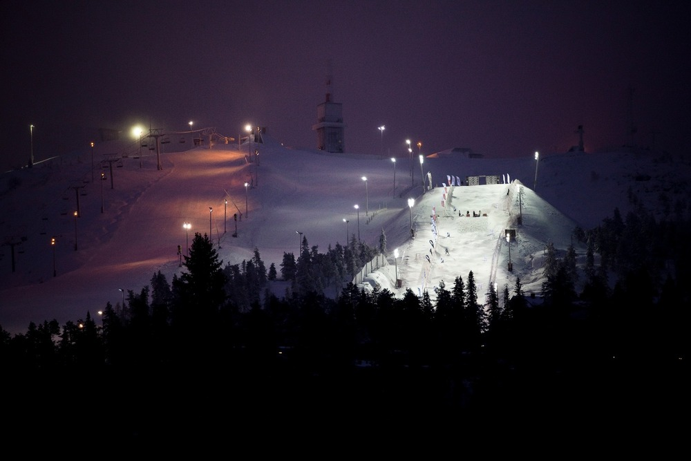FIS Freestyle ski slope, Ruka - © Ruka