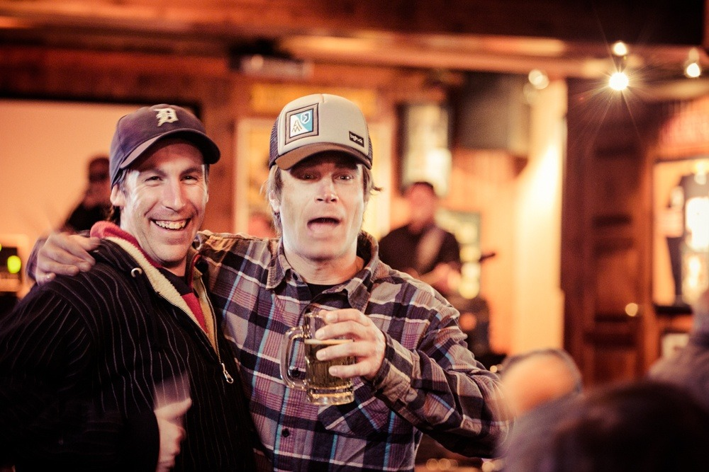 Apres at the Tram Club with ski Patroller Steve Miller - © Liam Doran