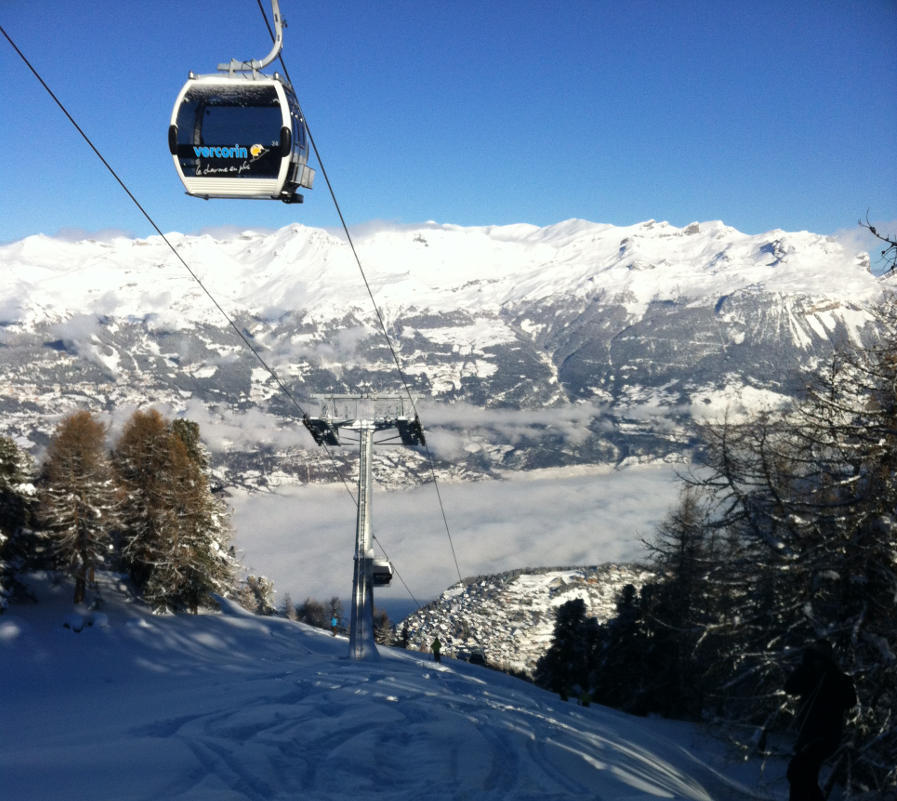 New gondel lift in Vercorin - © OT Sierre-Anniviers