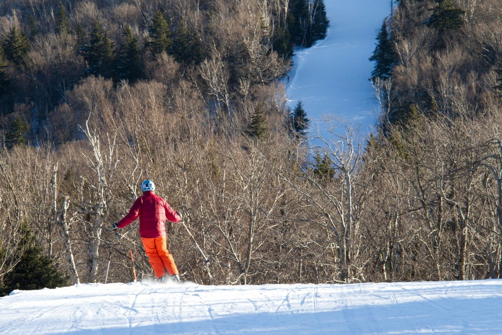 Sometimes you just have to leave everything else behind. Photo Courtesy of Okemo Mountain Resort.