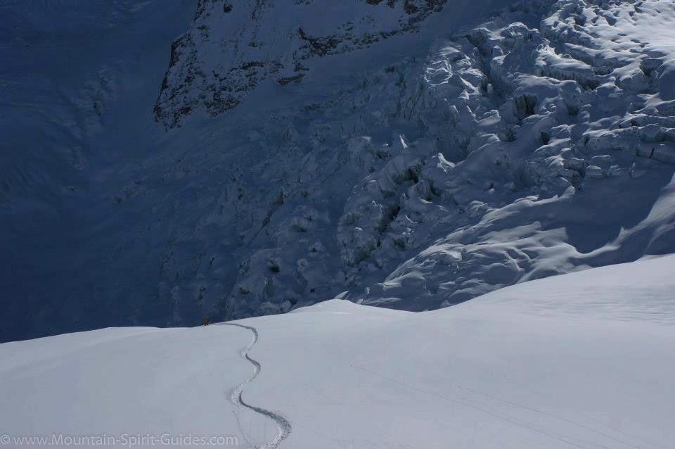 Chamonix med Mountain Spirit Guides 12. januar 2013 - © http://www.mountain-spirit-guides.com/