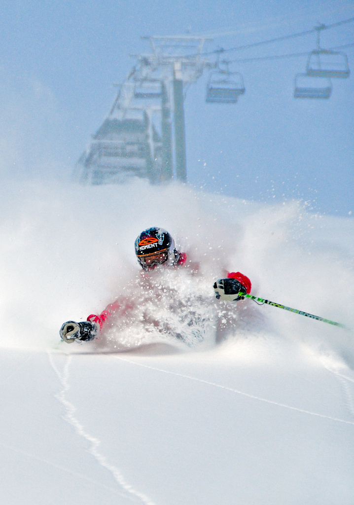 Catch one of the many powder days to come with the Kirkwood Quad Pack.  - © Kirkwood Mountain Resort