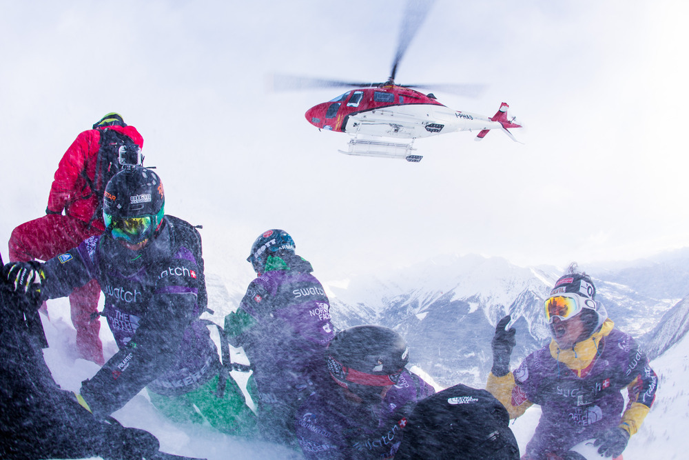 Freeride World Tour 2013 - Courmayeur - © Freerideworldtour.com/ J. Bernard