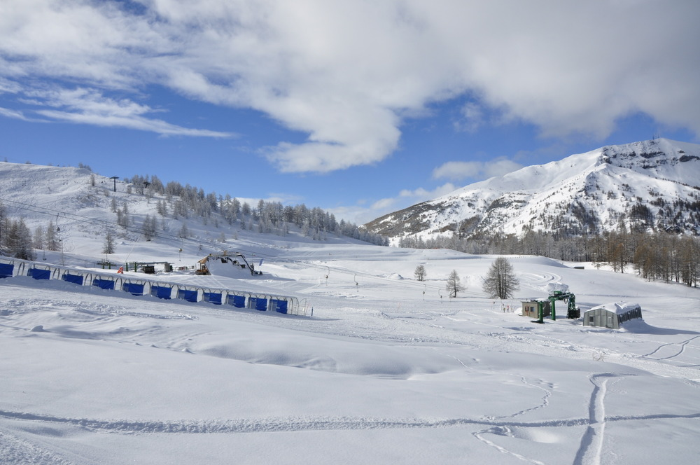 Sestriere, Via Lattea, Piemonte - Fresh snow Jan. 23 2013 - © Ezio Romano
