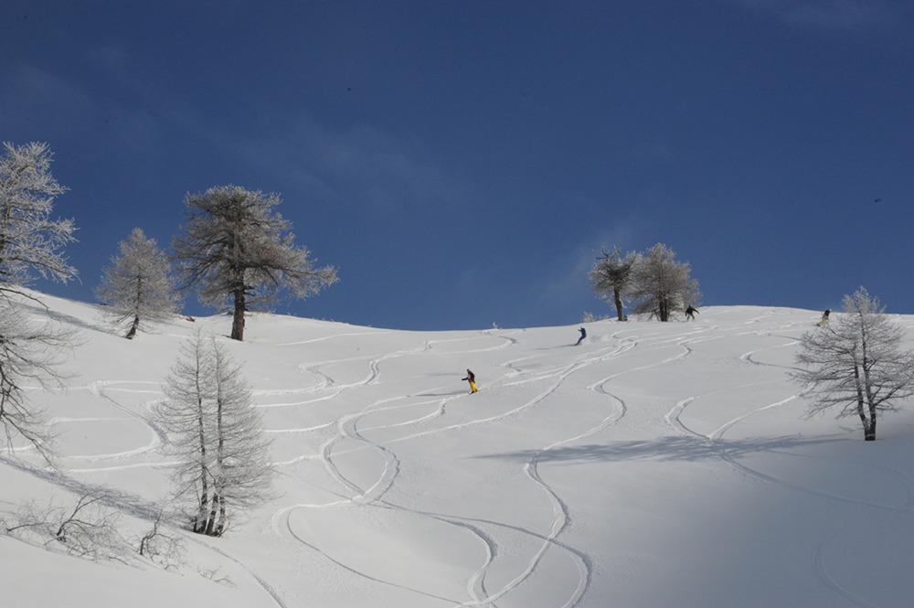 Bardonecchia, Piemonte - Fresh snow Jan 2013 - ©Colomion Spa