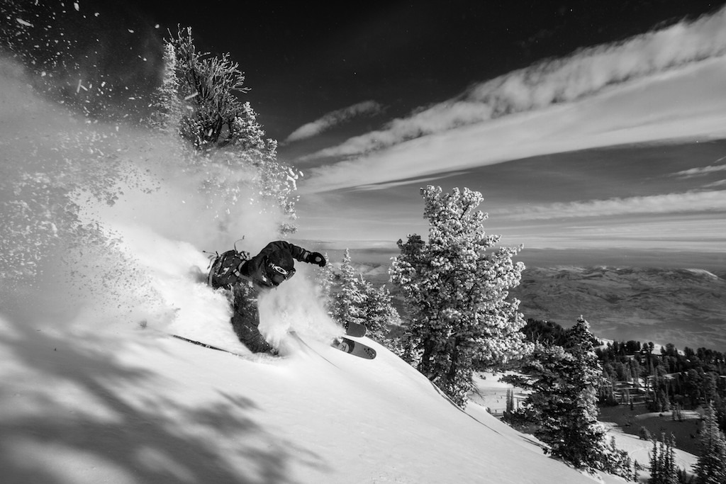 Carlo Travarelli finds plenty of fresh days after the last storm rolled through two days before. - © Liam Doran