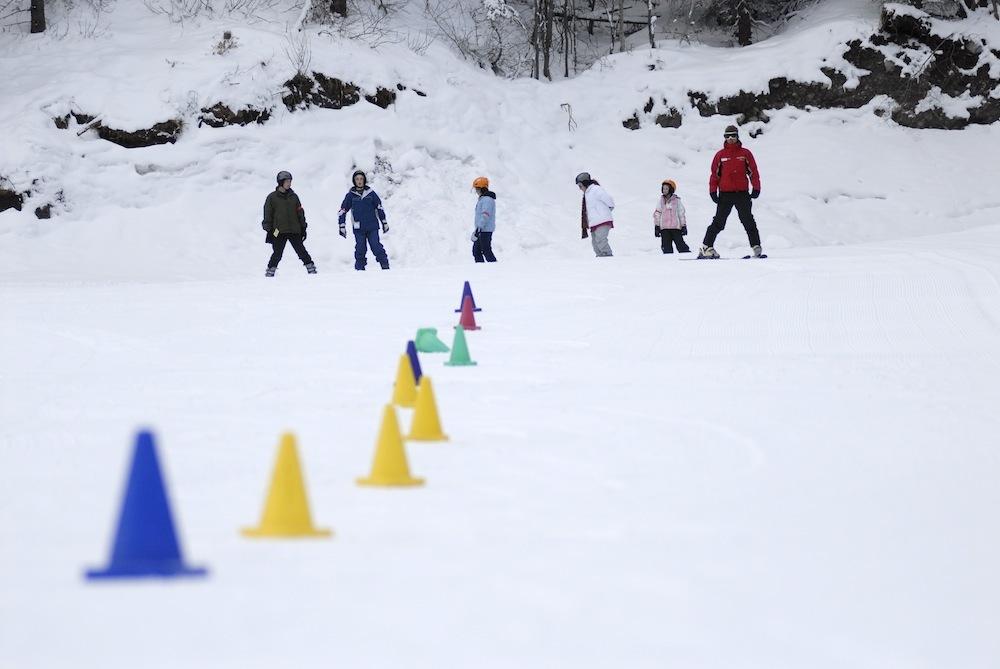 Nakiska ski area in Alberta. Photo courtesy of Resorts of the Canadian Rockies.