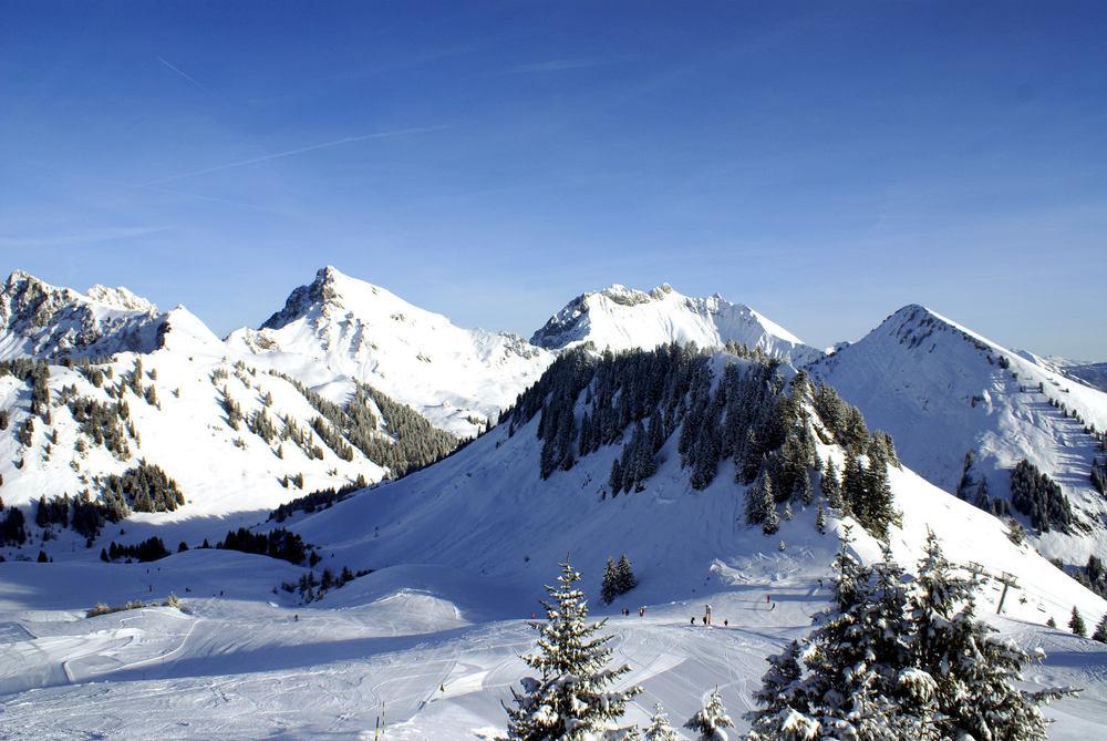 Praz de Lys - Sommand ski area - © OT de Praz de Lys - Sommand