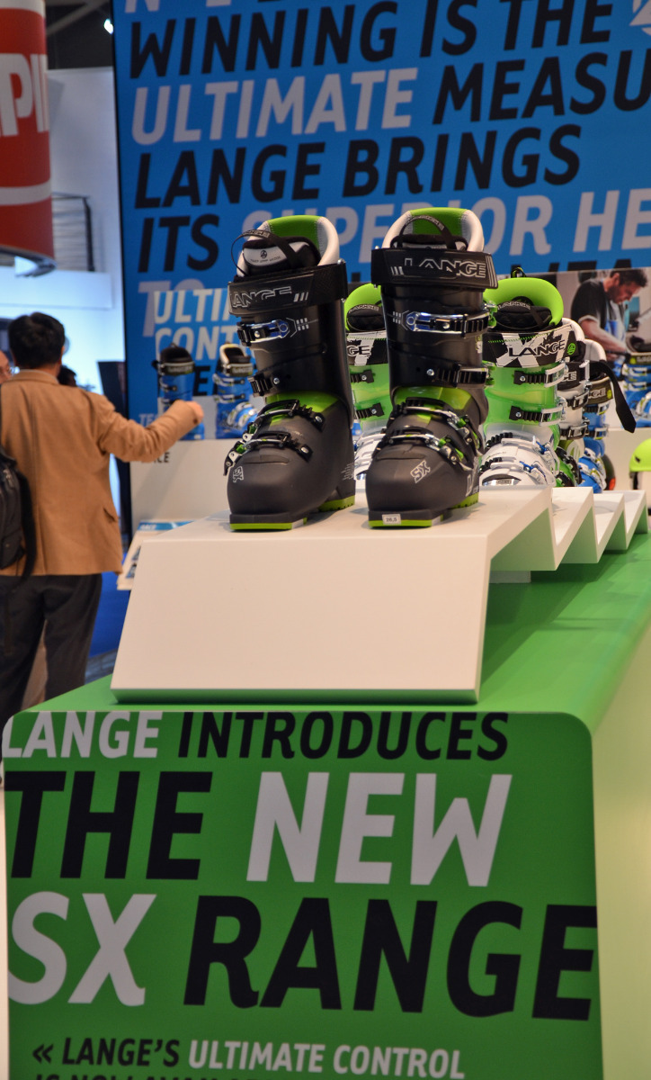 The new SX Series by Lange - © Skiinfo