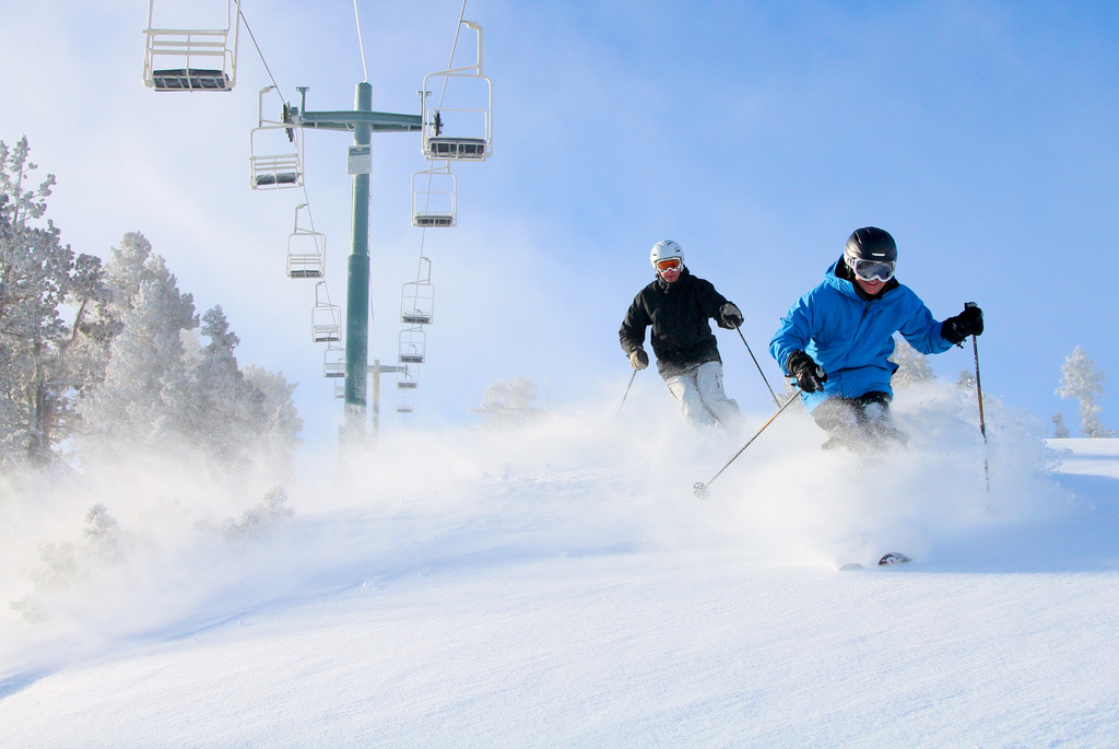 Hit the slopes of Bear Mountain this Valentine's Day. Photo: Brent Tregaskis - © Bear Mountain