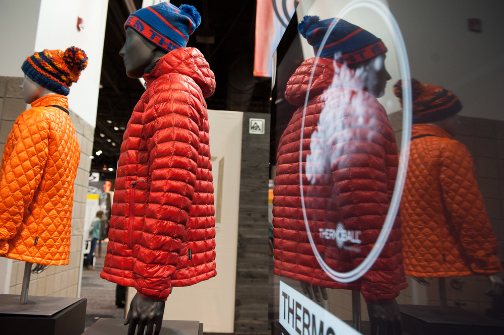 The North Face is releasing their Thermoball Synthetic Down Jacket that contains synthetic clusters implemented to mimic actual down clusters.  - © Ashleigh Miller Photography