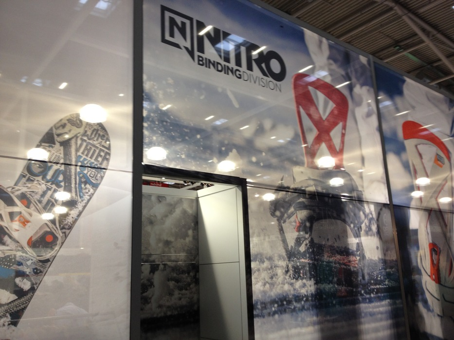 Nitro standen - © Jeppe Hansen / Skiinfo.dk