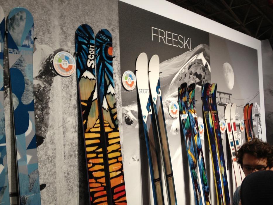Scott freeride ski - © Jeppe Hansen / Skiinfo.dk