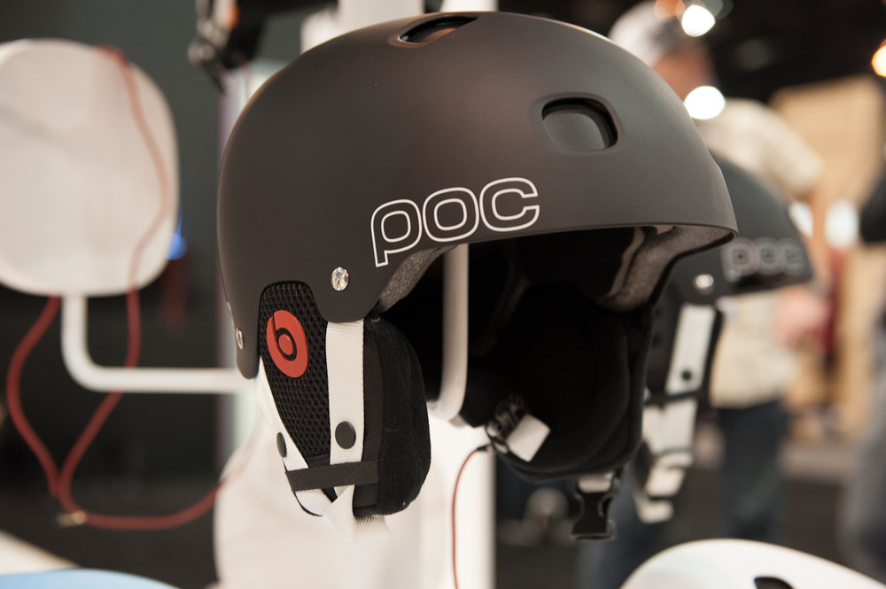 The POC Receptor BUG Communication Helmet is now available exclusively with Beats By Dre integrated headphones. - © Ashleigh Miller Photography