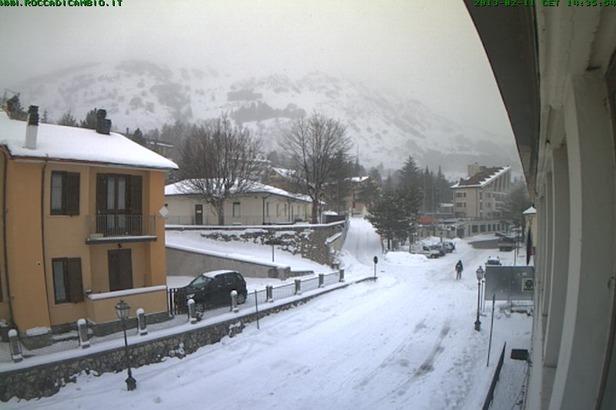 Campo Felice - webcam 12.02.13