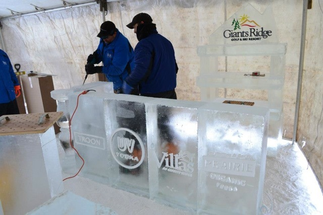 The Giants Ridge ice bar. - ©Giants Ridge Golf & Ski Resort