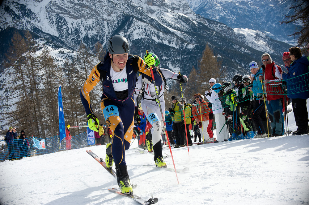 Sepp Rottmoser holte bei der WM der Skibergsteiger Gold im Sprint - © Werbegams.at