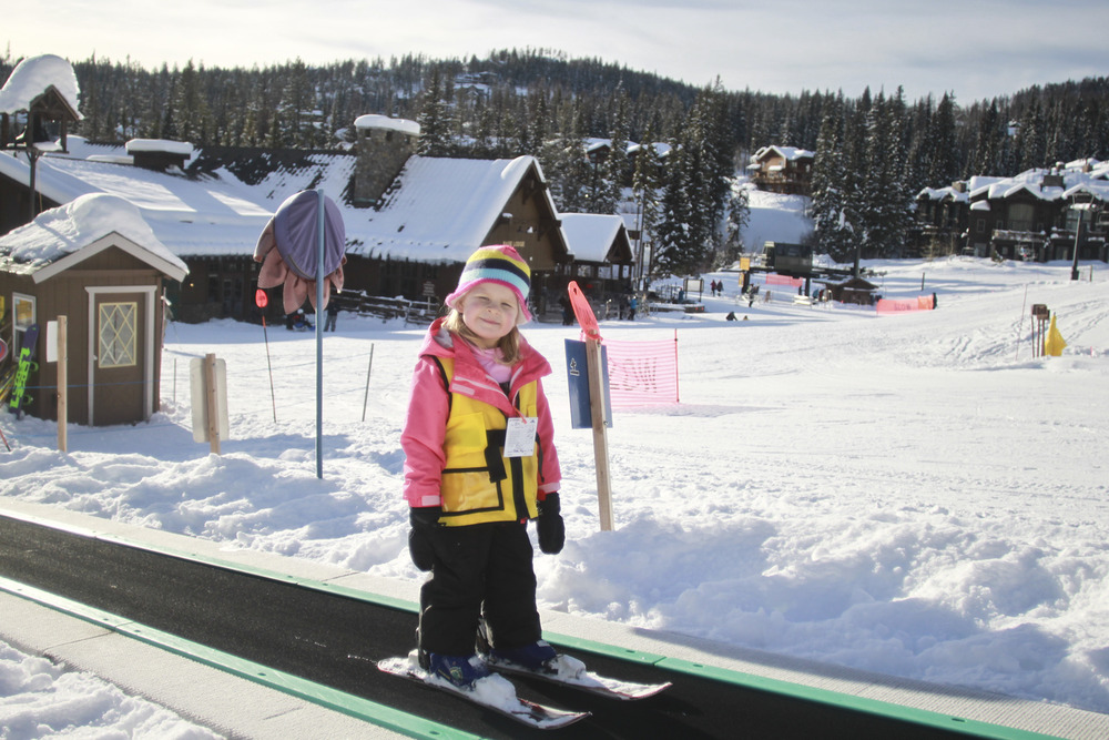 The Magic Carpet at Whitefish Mountain Resort. Photo courtesy of Whitefish Mountain Resort.