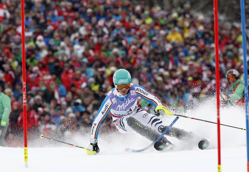 Felix Neureuther holte Silber im Slalom - © Alexis Bloichard/Agence Zoom
