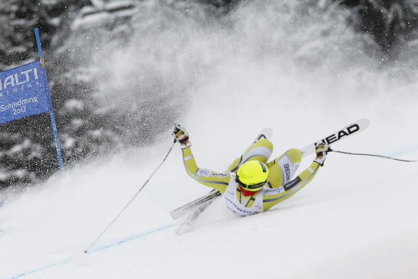 Kjetil Jansrud stürzt und reist ab - einer der Pechvögel der WM. - © Christophe Pallot/AGENCE ZOOM