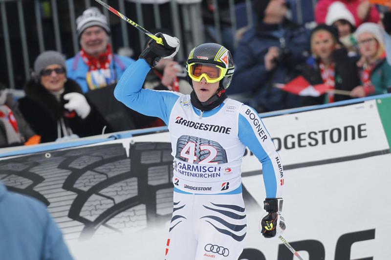 Jawohl! Benedikt Staubitzer faährt beim Heim-Riesenslalom mal eben auf Platz 15 - stark!   - © Alexis Boichard/AGENCE ZOOM