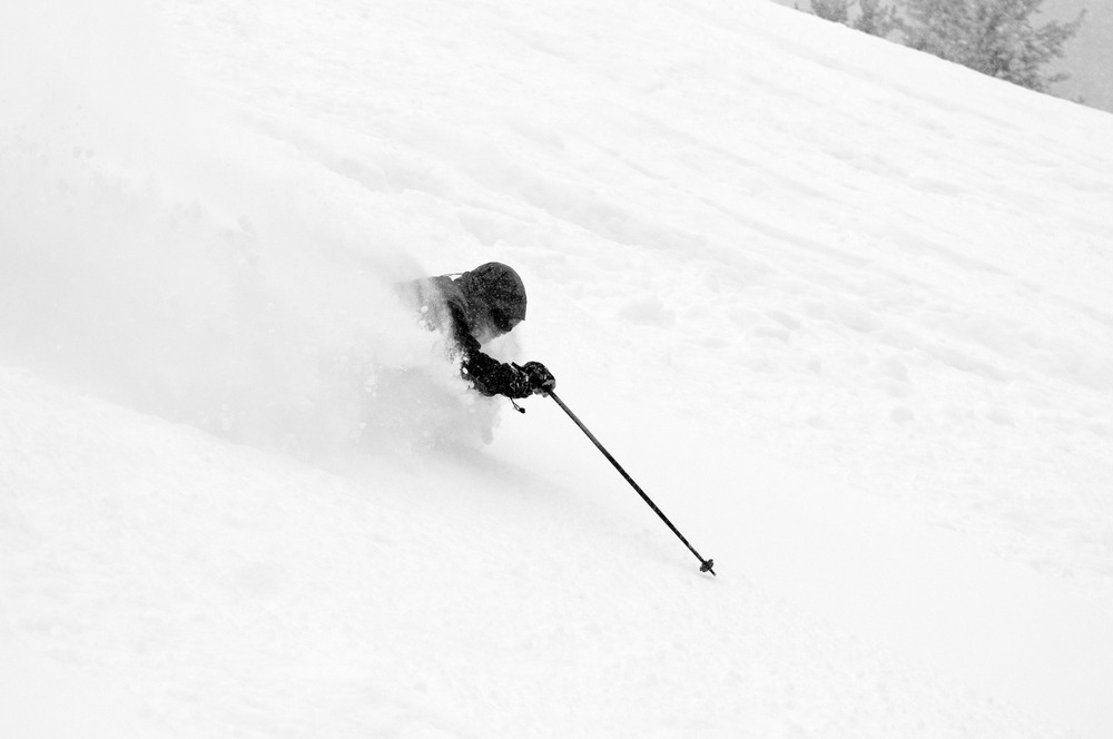 Skiing Outback off of the Breezeway lift. - © Josh Cooley
