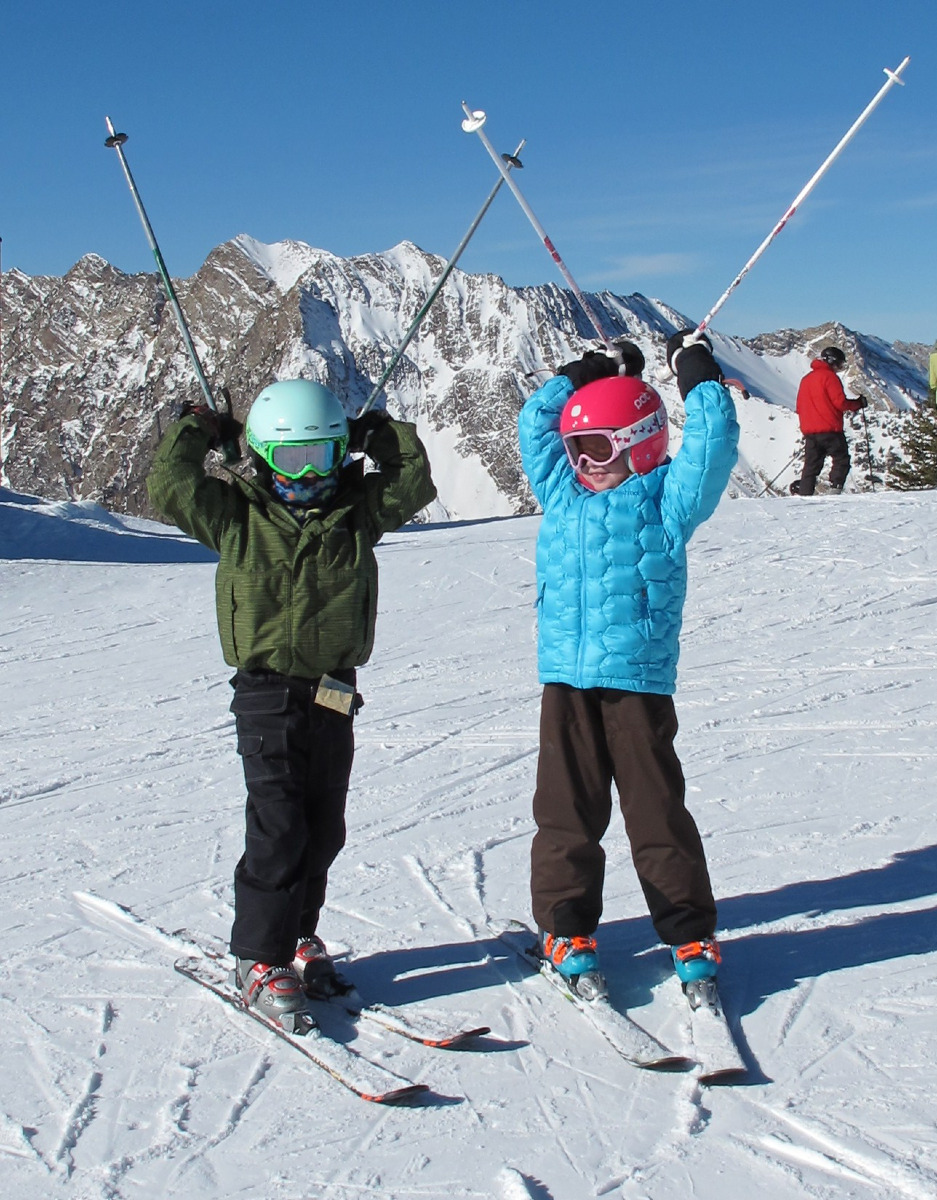 It's all smiles and laughs when kids stay free at Alta Lodge, April 1-14. - ©Tyson Bradley