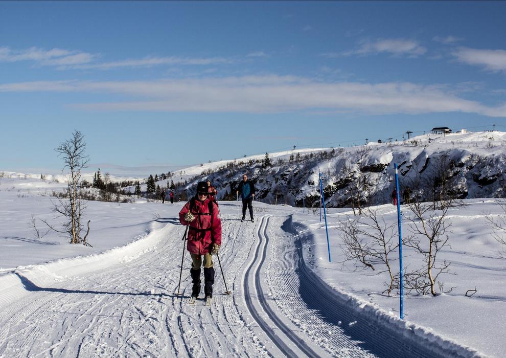 Voss Resort Bavallen - Langrenn i vintersol - © Voss Resort Bavallen