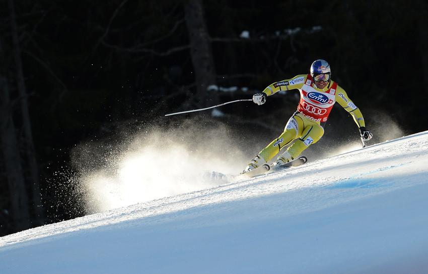 Aksel Lund Svindal im Einsatz: In Kvitfjell holte er 180 von 200 möglichen Punkten. - © Jonas Ericsson/AGENCE ZOOM