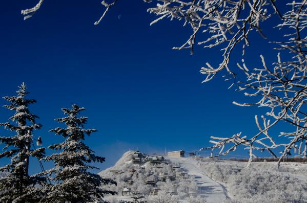 Plenty of bluebird days ahead at Beech Mountain Resort. Photo Courtesy of Beech Mountain Resort.