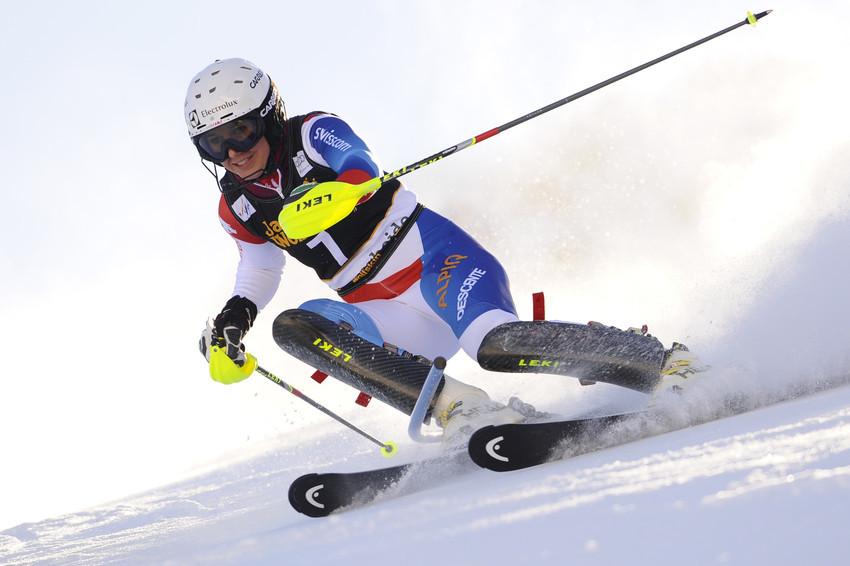 Wendy Holdener konnte beim Slalom-Finale überzeugen - © Alain Grosclaude/AGENCE ZOOM