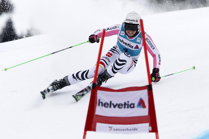Vierter Platz zum Abschluss: Viktoria Rebensburg in Lenzerheide - © Alexis Boichard/AGENCE ZOOM