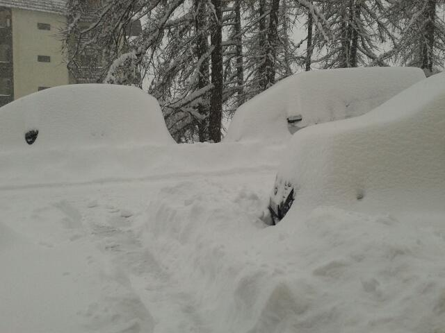 March, 18th 2013 snowfall - Auron