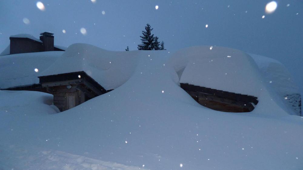 Avoriaz sous une belle couche de neige...
