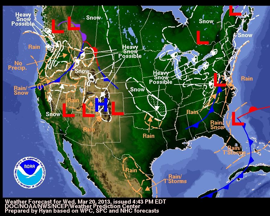 Winter's not over yet. - © NOAA