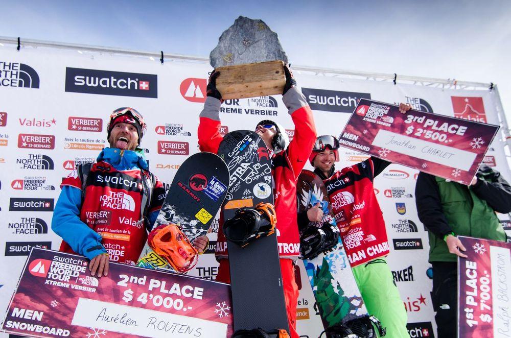 Finale du Freeride World Tour 2013 : l'Xtreme de Verbier - © freerideworldtour.com / PField