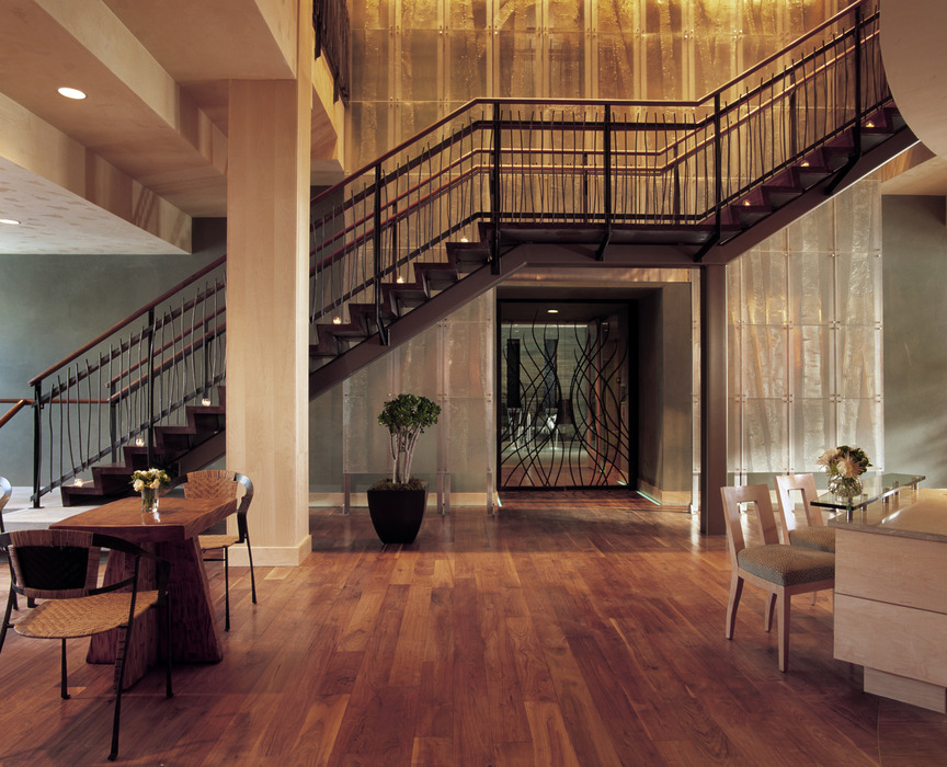 The spa lobby at the Park Hyatt Beaver Creek Resort and Spa. - © Park Hyatt Beaver Creek Resort and Spa