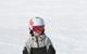 Young snowboarder cruises down a run at Boyne Mountain Resort, Michigan