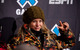 Hannah Teter poses for photos in the press room after the Superpipe finals. Photo by Sasha Coben