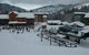 A view of the village and lodge in Grand Targhee, Wyoming