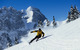 Skier carves a turn at Gstaad, Switzerland. - © Gstaad Saanenland Tourismus