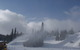 Snow guns and snow plows work the Little Hawk area at Eldora. Photo courtesy Eldora Mountain Resort.