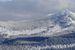 Vue sur le domaine skiable de Monts Jura