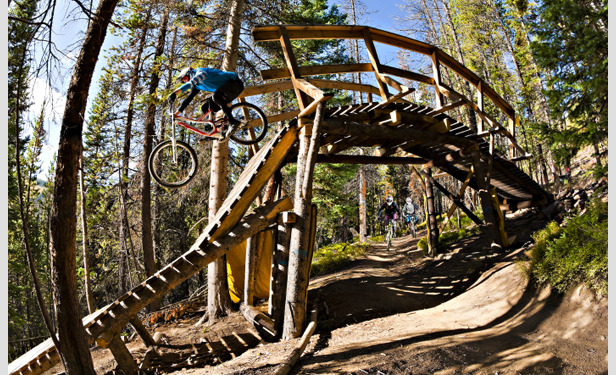 Winter Park's Trestle Bike Park offers something for everyone from season pros to first-timers. - ©Chris Wellhausen