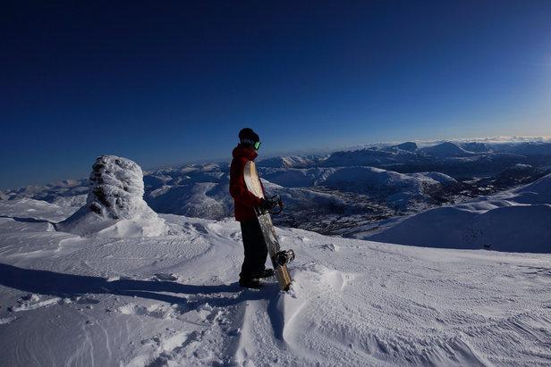 Opplev Cat Ski i Harpefossen ©Mads Jonsson