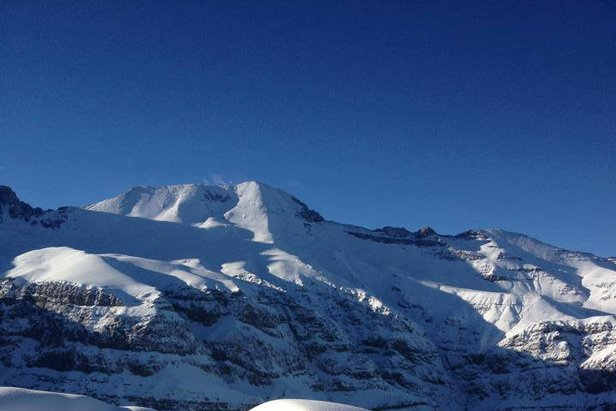 Over a Foot of Fresh Snow in South America- ©Photo Courtesy Valle Nevado