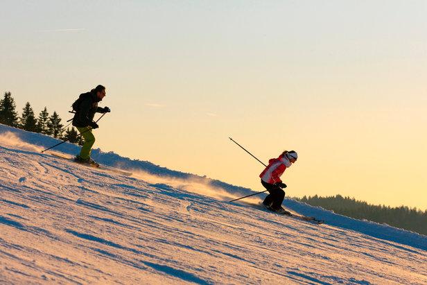 Ski sur le domaine de la Serra aux Rousses